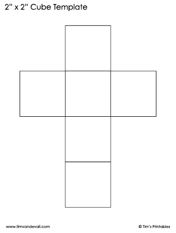 cube template