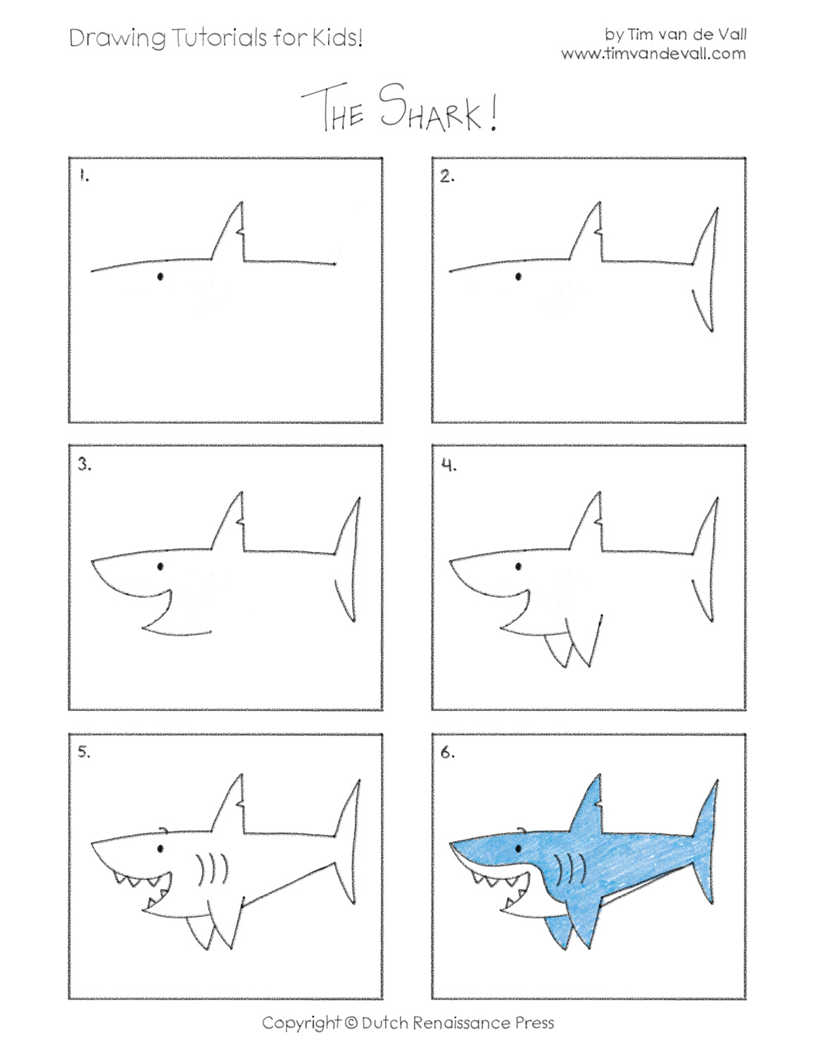 Easy Drawing Tutorials for Kids | Printable Drawing Lessons