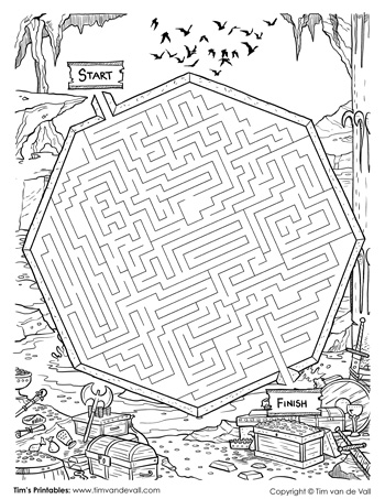 Cave of Wonders Maze