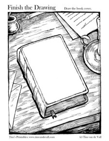Finish the Drawing - The Book Cover