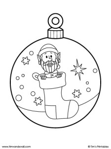 christmas ornament elf