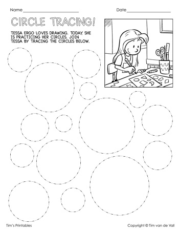 Shape Tracing Worksheets - 20 Pages of Tracing Practice