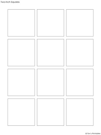 Square Templates PDF