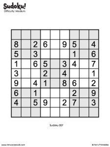 Sudoku 07