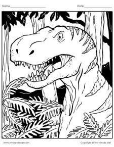 tyrannosaurus-rex-coloring-page