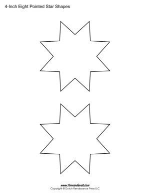 eight sided stars