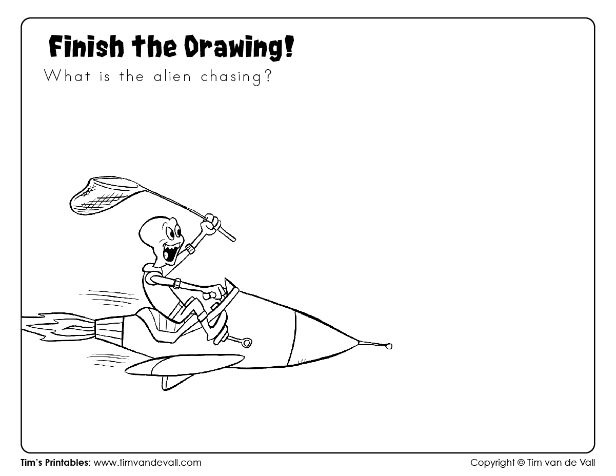 Finish The Drawing