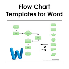 Blank flow chart template for word free download pronofoot35fo Images