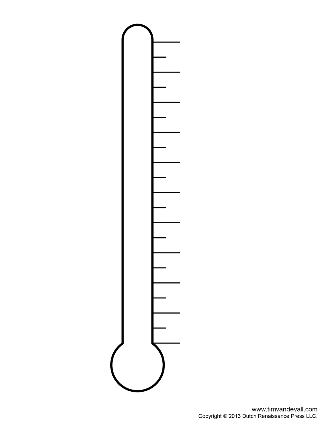 Fundraising Thermometer Templates For Fundraising Events