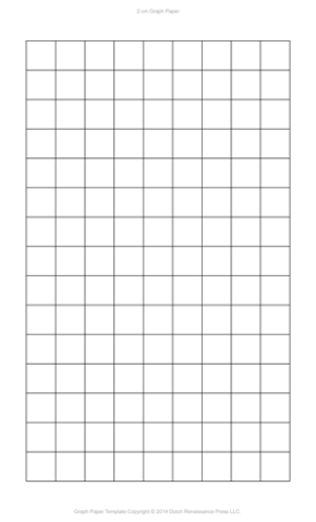 2 Centimeter Graph Paper, Legal PDF