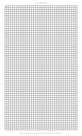 5 Millimeter Graph Paper, Legal PDF