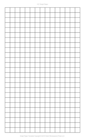 Half Inch Graph Paper, Legal PDF