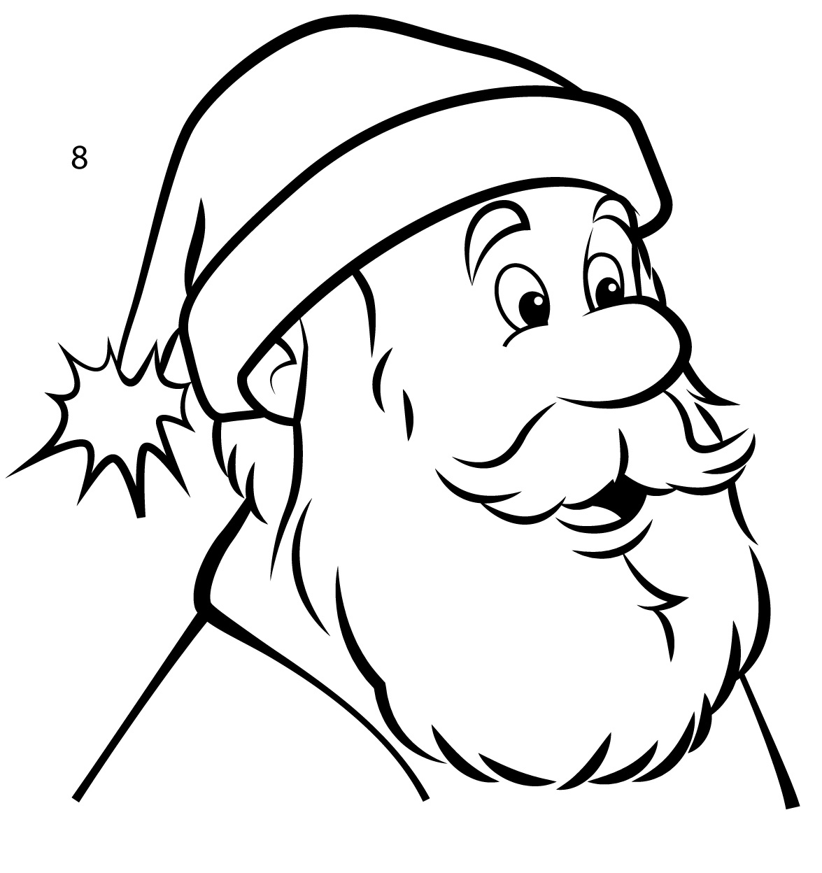 How To Draw Santa Claus In 8 Easy Steps