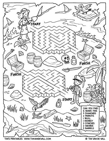 Island Adventure Maze