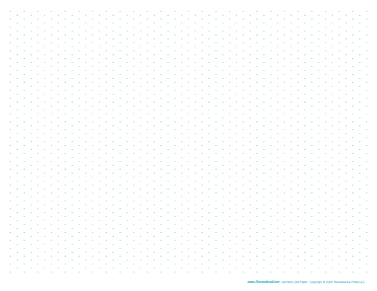 printable isometric dot paper pdf template