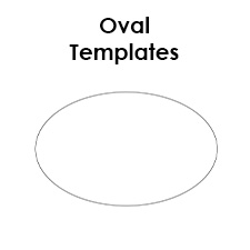 oval template