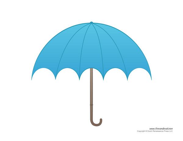 Paper Umbrella Template