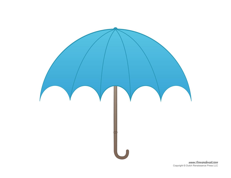 Umbrella Template Printables