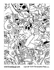 Printable Halloween Puzzle