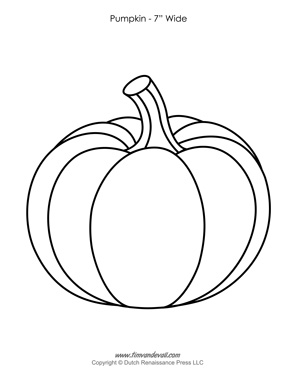 Pumpkin Template Printable