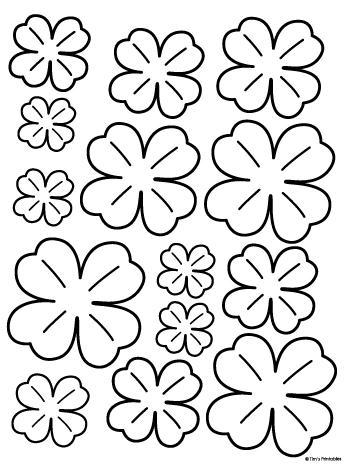 shamrock templates