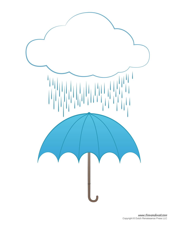 About Me Worksheet Umbrella