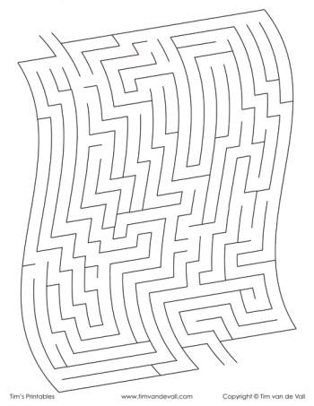 wavy maze