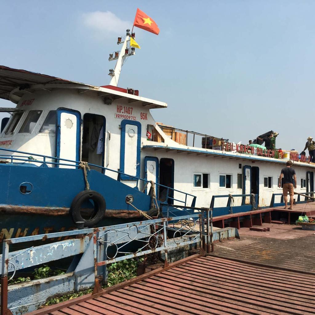 Boat in Cat Ba