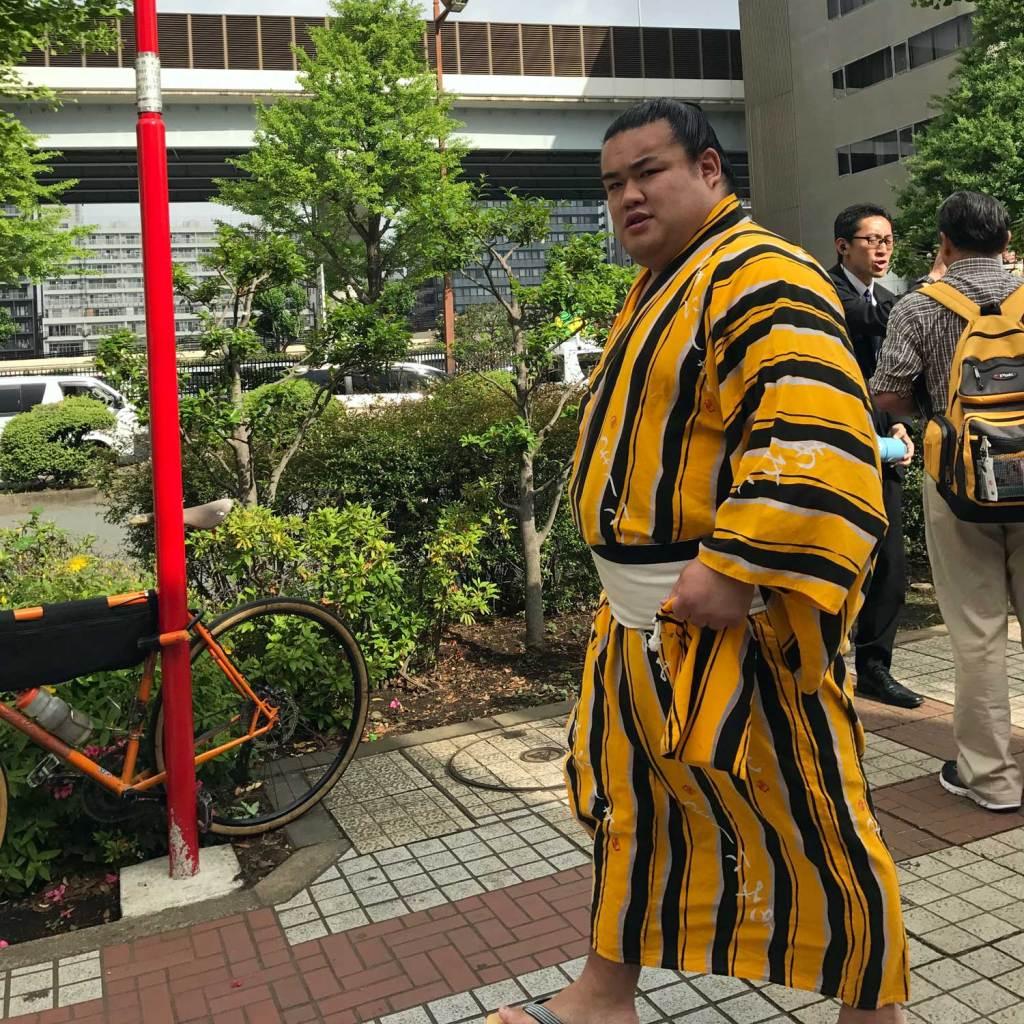 Japan Tokyo Sumo Worstelaar 03