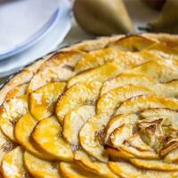 Francúzsky jablkový tart