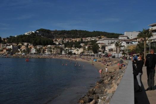 Stranden i Soller