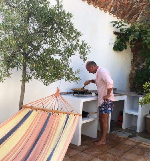 Paellatillagning