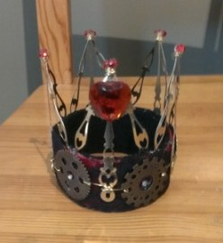 Steampunk Queen of Hearts Crown