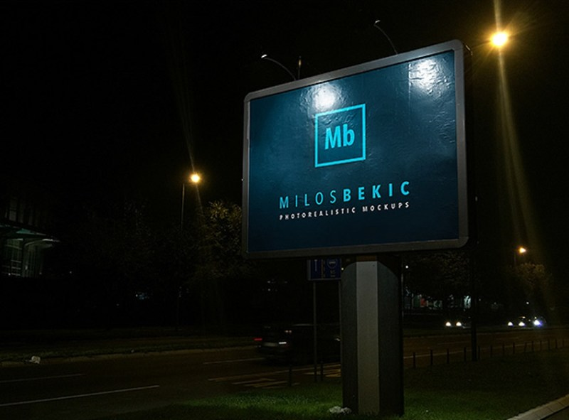 25 best billboard psd mockups signage outdoor advertising