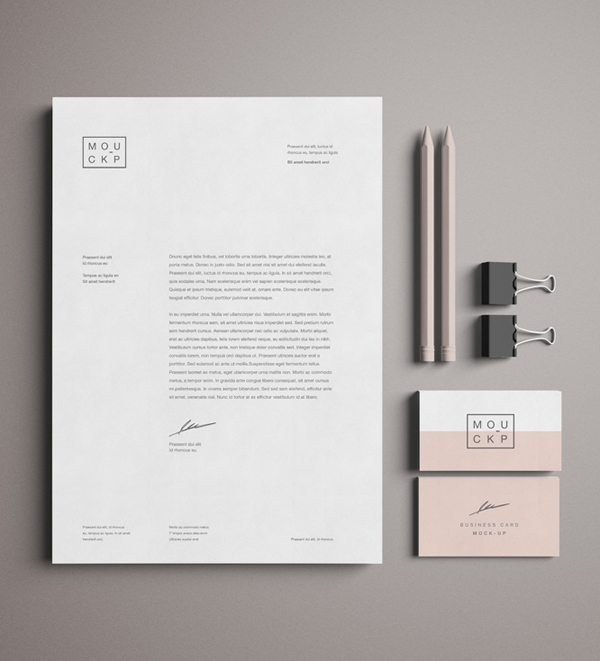 50 free branding identity stationery psd mockups freebies