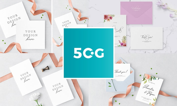 50 lovely invitation greeting card mockups for all professional
