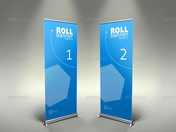 9 banner mockups editable psd ai vector eps format download
