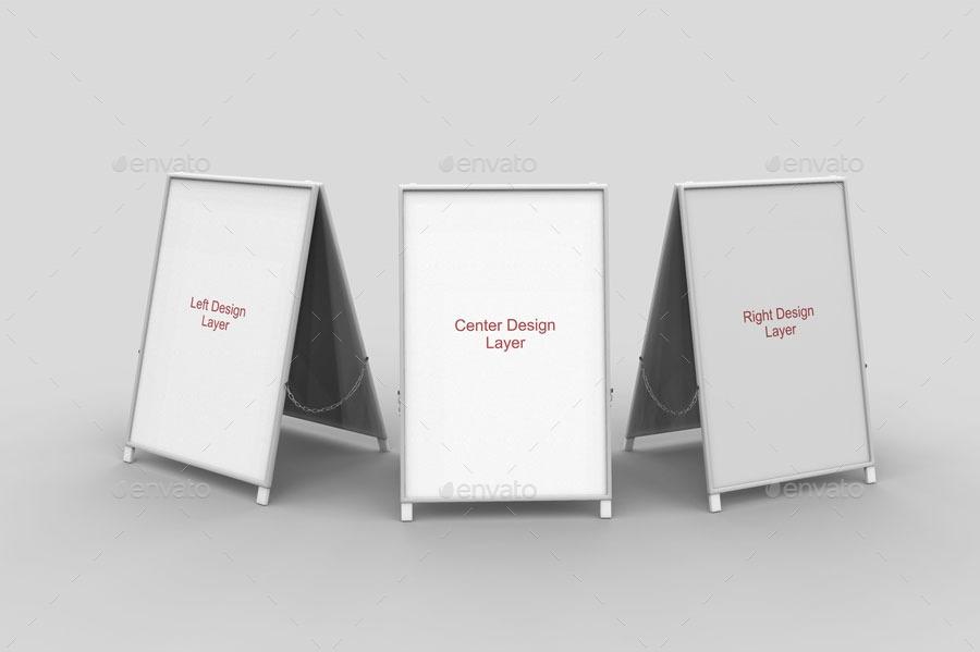 a board sign mockups jorgerivero graphicriver