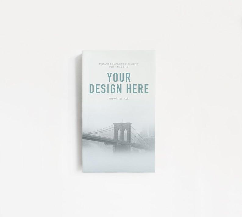 book mockup book cover mockup minimalist book mock up etsy