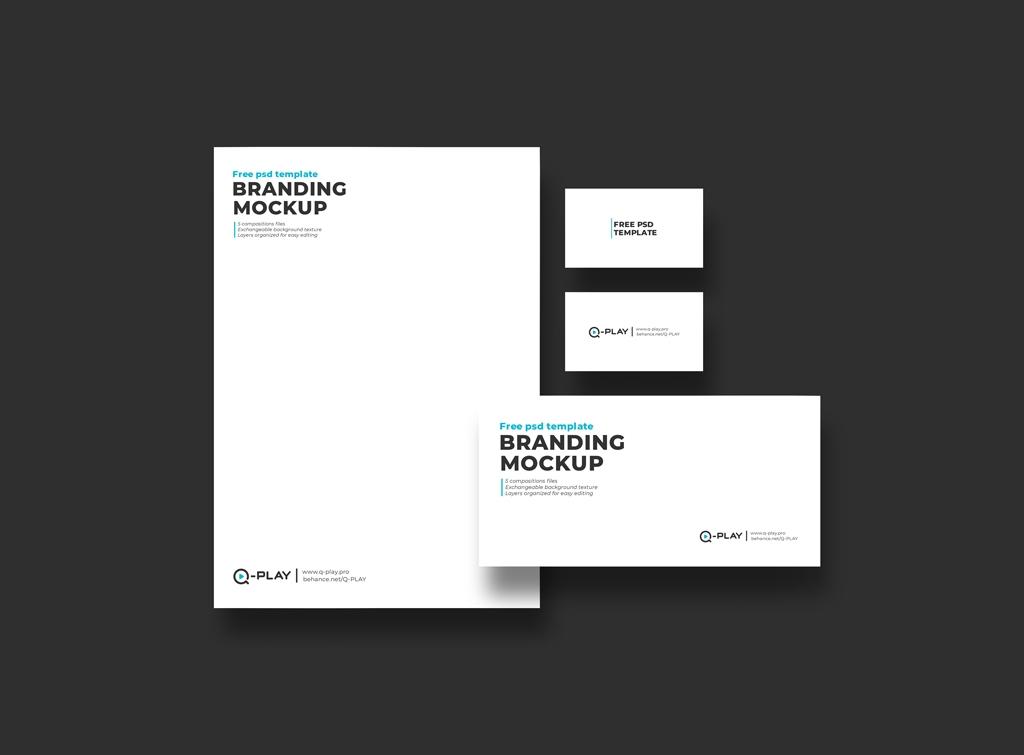 branding identity mockup mockupworld
