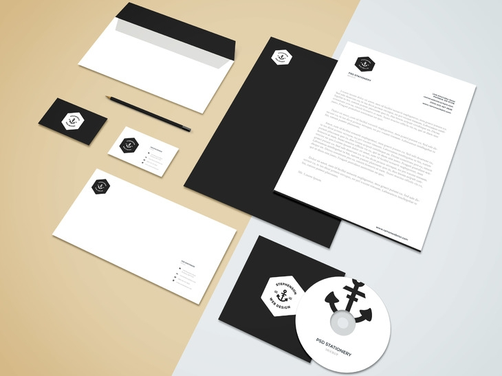 branding stationery mockup vol5 graphberry