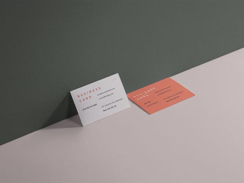 business card mockup branding mockup free free mockup