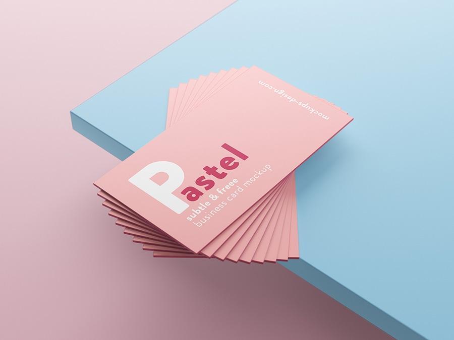 free business cards mockup mockups design free premium mockups