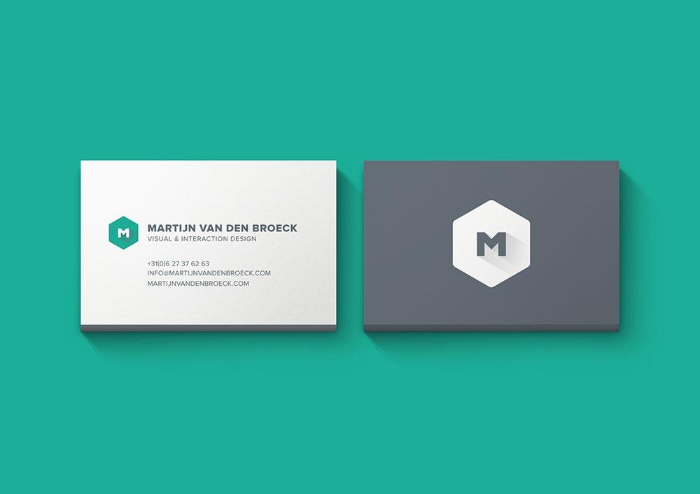 free minimal business card mockup mockuptree