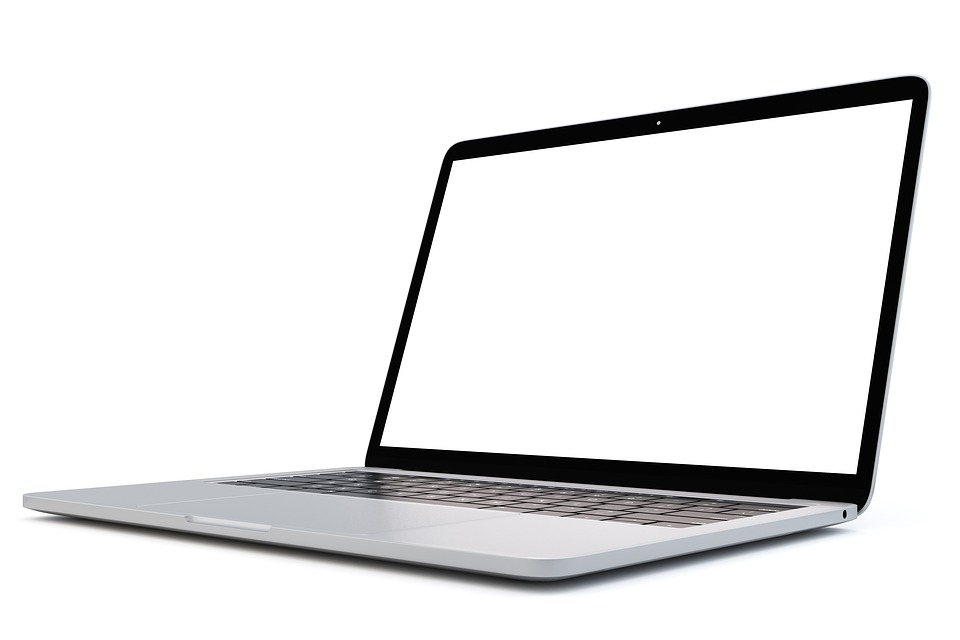 free photo blank laptop empty computer mockup screen max pixel