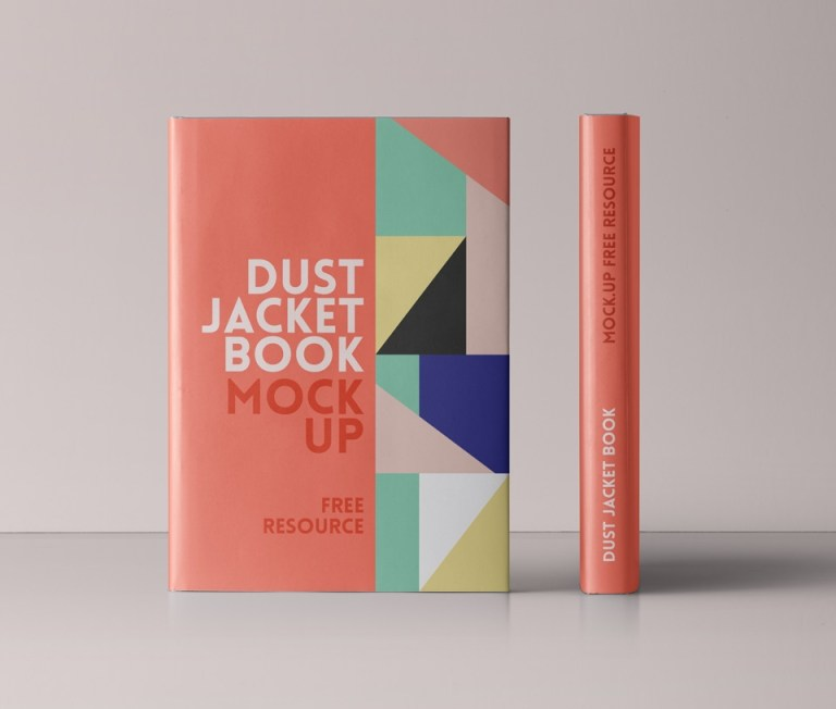 free psd dust jacket book mockup mockuptree