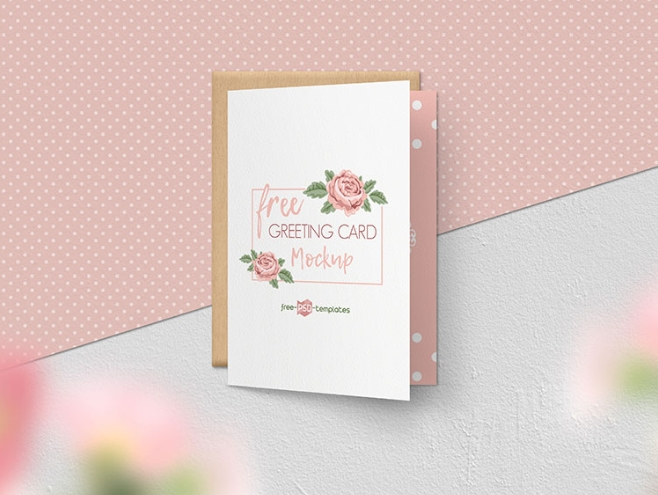gorgeous greeting card mockup psd template mockup free downloads