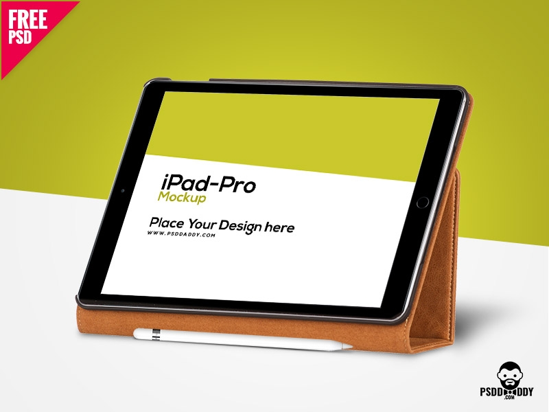 ipad pro mockup free psd free download psd on dribbble