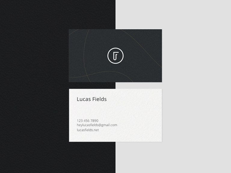 minimalist business card mockup bundle free psd template psd repo