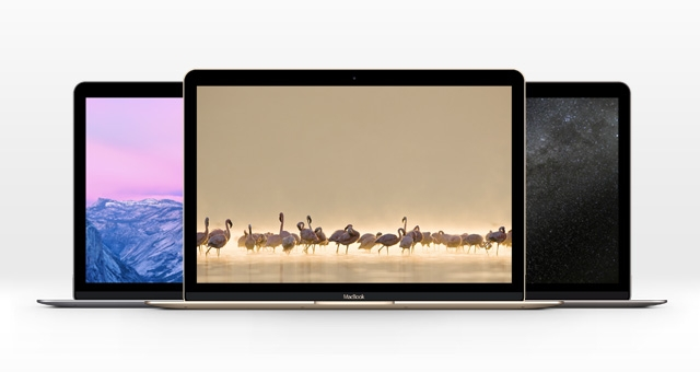 new macbook pro mockups in three colors mockupworld
